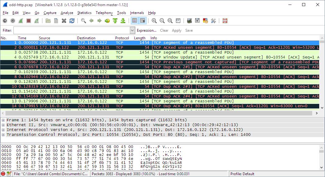 Resultado de imagen para Wireshark 2
